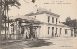 Fumay , Vallée De La Meuse , La Gare , Vue Extérieure ,( Charleville Mézières ) - Fumay