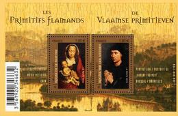 France - 2010 - Flemish Primitive Painters - Joint Issue With Belgium - Mint Souvenir Sheet - Ongebruikt