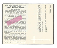DD 636. MARIA MELANIA SNYERS Echtg. L. Hoydonckx - °HEUSDEN 1888 / +KOERSEL 1957 - Devotion Images