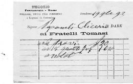 1893 BONDENO - FERRAMENTA - Italië
