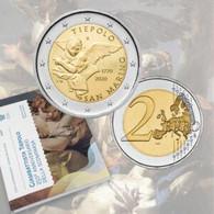 """San Marino (Saint Marin) 2020 : 2 Euro Commémorative """"250 Ans De La Mort De Tiepolo"""" (en Coffret BU) - DISPO EN FRANCE - San Marino"""