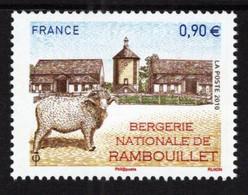 France - 2010 - Rambouillet Sheep - Mint Stamp - Ongebruikt
