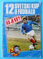 FIFA FOOTBALL WORLD CUP 1980 SPAIN - Yugoslavia Old Guide-programme * Soccer Fussball Foot Futbol Coupe Du Monde Espana - Sin Clasificación