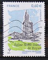 FRANCE 2011 - Timbre N° 4613 - Eglise Notre Dame De Royan - 2010-.. Matasellados