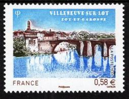 France - 2010 - Villeneuve-sur-Lot - Mint Stamp - Ongebruikt