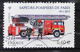FRANCE 2011 - Timbre N° 4590 - Brigade Des Sapeurs-pompiers - 2010-.. Matasellados