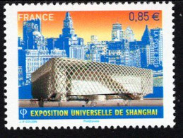 France - 2010 - World EXPO In Shanghai - Mint Stamp - Ongebruikt