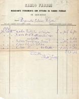 1879 SERMIDE - CARLO FABRI FERRAMENTA CON OFFICINA DI FABBRO - Italië