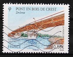 FRANCE 2011 - Timbre N° 4544 - Pont En Bois De Crest - 2010-.. Matasellados