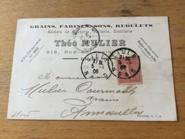 K14 France 1906 Cp De Lille - Lettres & Documents