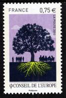France - 2010 - Council Of Europe - Mint Stamp - Ongebruikt