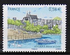 FRANCE 2011 - Timbre N° 4543 - Angers - 2010-.. Matasellados