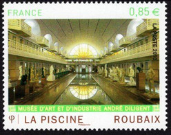 France - 2010 - La Piscine Art And Industry Museum In Roubaix - Mint Stamp - Ongebruikt