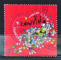France 2010 - Cachet à Date N° 4431 - Coeur De Lanvin - Used Stamps