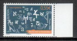 Andorra (französische Post / French Post) 2008 EUROPA ** - 2008