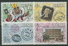 Kenia 1990 STAMP WORLD LONDON Penny Black 505/08 Postfrisch - Kenia (1963-...)