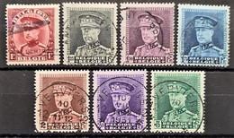 BELGIUM 1931-32 - Canceled - Sc# 229-235 - Usados