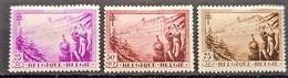 BELGIUM 1932 - Canceled - Sc# B126, B127, B128 - Usados