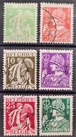BELGIUM 1932 - Canceled - Sc# 245-250 - Usados