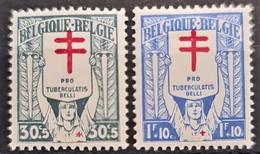 BELGIUM 1925 - Canceled - Sc# B54, B55 - Usados