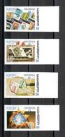 Georgien / Georgia / Géorgie 50th Anniversary Of The First Europe Stamp Satz Geschnitten/ Set Not Perforated** - 2006