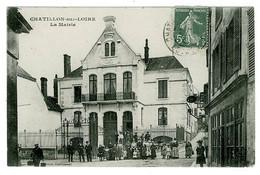 45 - B3720CPA - CHATILLON SUR LOIRE - La Mairie - Très Bon état - LOIRET - Chatillon Sur Loire