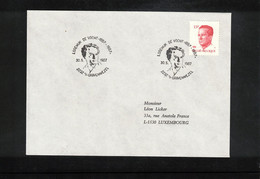 Belgium 1987 Music Composer Lodewijk De Vocht Interesting Letter - Música