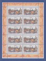 Zehnerbogen ** 1996  Mi.-Nr. 1881 UNESCO-Welterbe Altstadt Bamberg    - Blocks & Kleinbögen