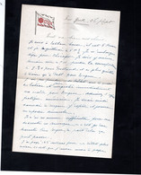 """Courrier Entête """" Cie. Gle. TRANSATLANTIQUE"""" - Boats"""
