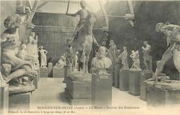 Dép 10 - Nogent Sur Seine - Le Musée - Section Des Sculptures - état - Nogent-sur-Seine