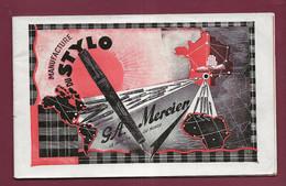 160121A - 1938 Catalogue Commercial STYLO L MERCIER à TOULON - Papeterie Plume - Drukkerij & Papieren