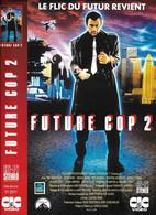 """Affiche (30x22,5) De Film """"FUTURE COP 2"""" De Charles Band -vhs Secam CIC VIDEO """"le Flic Du Futur Revient"""" - Affiches"""