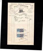 EVREUX - Facture Illustrée 1924 - Entreprise Générale De Transports - Albert VARILLON - Correspondant Des Chemins De Fer - 1900 – 1949