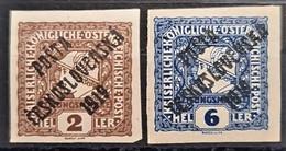 CZECHOSLOVAKIA 1919 - MNH - Sc# B27, B29 - Neufs