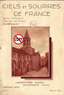 REVUE  CIELS ET SOURIRES DE FRANCE JUILLET 1932  8 Photos CLERMONT FERRAND - Tourism & Regions