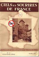 ANNECY Et GORGES DU FIER - REVUE  CIELS ET SOURIRES DE FRANCE MARS 1934  8 Photo - Tourism & Regions