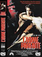 """Affiche (30x22,5) De Film """"L'ARME PARFAITE / THE PERFECT WEAPON"""" De Mark Disalle -vhs Secam CIC VIDEO - Affiches"""