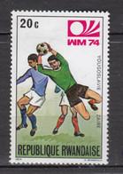 Rwanda, Foot, Football, Soccer, Coupe Du Monde, World Cup, Yougoslavie, Zaire - 1974 – West-Duitsland