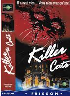 """Affiche (30x21,5) De Film """"KILLER CATS"""" De John Mc Pherson -vhs Secam Universal - Affiches"""
