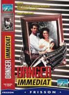 """Affiche (30x21,5) De Film """"DANGER IMMEDIAT"""" De Fred Walton -vhs Secam PARAMOUNT - Affiches"""