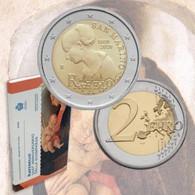 """San Marino (Saint Marin) 2020 : 2 Euro Commémorative """"500 Ans De La Mort De Raffaello"""" (en Coffret BU) - DISPO EN FRANCE - San Marino"""