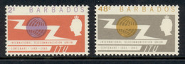 Barbados 1965 ITU MLH - Barbados (...-1966)