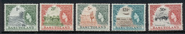 Basutoland 1964 QEII Pictorials Wmk. Block CA MLH - 1933-1964 Crown Colony