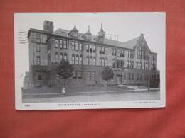 High School Jamaica  Long Island   - New York      Ref 4604 - Long Island