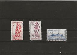 SAINT PIERRE ET MIQUELON 210/212 (3V) 1941 MICHEL NUEVO - Nuovi