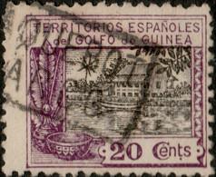 """GOLFO DE GUINEA """"PAQUEBOT / BARCO"""" (Fernando Poo, Hosking 2741) On Ed.170/Mi.112 - Guinea Spagnola"""