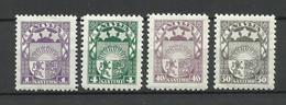 LETTLAND Latvia 1929 Michel 149 - 152 * - Lettland