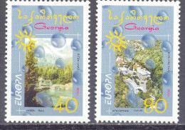 2001. Georgia, Europa 2001, Set, Mint/** - Georgien