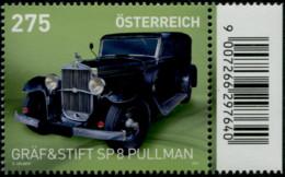 Gräf U. Stift SP 8 Pullman Österreich 2021 Postfrisch/MNH - 2011-... Nuovi & Linguelle
