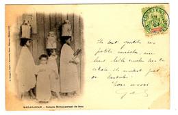 42258 - Enfants  HOVAS Portant  De  L'eau - Storia Postale
